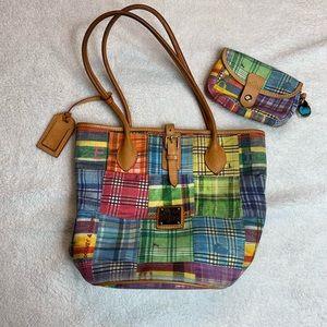 Dooney & Bourke Picnic Bucket Bag / Purse & Wallet